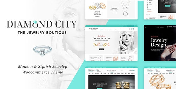 DiCi - Jewelry Shop WordPress Theme - WooCommerce eCommerce