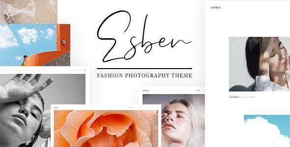 Esben - Elegant Fashion Photography Theme - Photography Creative