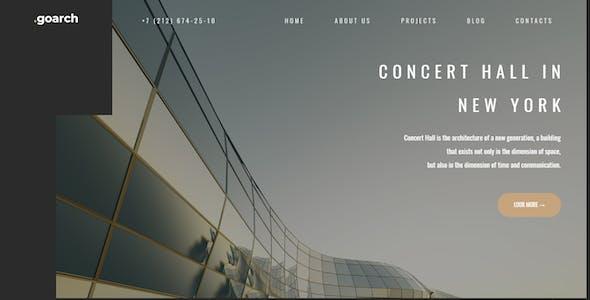 go.arch - Architecture & Interior Drupal 8.9 Theme