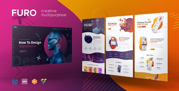Furo - A Creative MultiPurpose WordPress Theme - Portfolio Creative