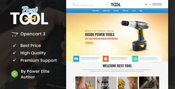 Tools - Opencart Responsive Theme - Miscellaneous OpenCart