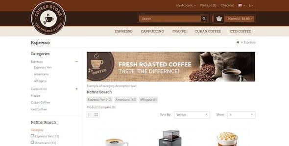 Coffee - Opencart Responsive Theme