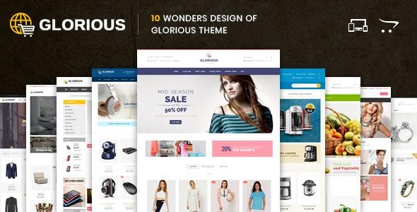 Glorious - Opencart Responsive Theme - OpenCart eCommerce