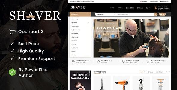 Shaver - Multipurpose OpenCart 3 & 2 Theme - Health & Beauty OpenCart