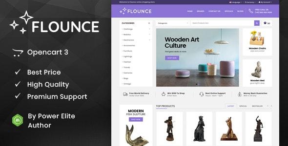 Flounce - Multipurpose OpenCart Theme - Miscellaneous OpenCart