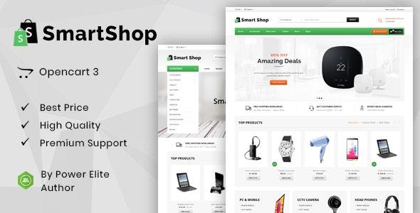 Smart Shop - Multipurpose OpenCart 3 & 2 Theme - Shopping OpenCart