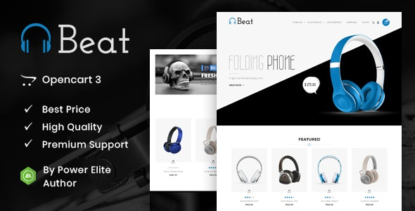 Beat - Multipurpose OpenCart 3 & 2 Theme - Technology OpenCart