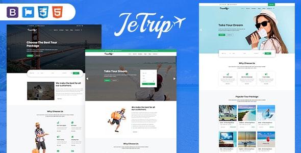 Jetrip - Travel  Multipurpose HTML5 Template - Travel Retail