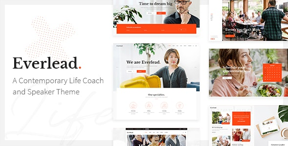 Everlead Theme Preview