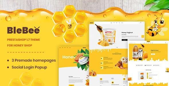 BleBee - PrestaShop 1.7 theme for Honey Shop - Health & Beauty PrestaShop