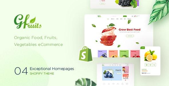 GFruits – Food eCommerce Shopify Theme - Shopify eCommerce