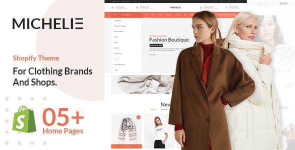 MICHELIE – Minimal & Clean Fashion Shopify Theme - Fashion Shopify