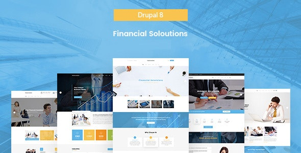 Fi Solutions - Financial & Business Drupal 8.7 Theme - Business Corporate