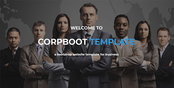Corpboot - Corporate Website WordPress Theme - Business Corporate