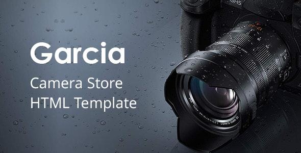 Garcia - Camera Store HTML Template - Shopping Retail