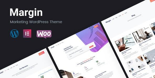 Margin | Marketing WordPress Theme - Marketing Corporate