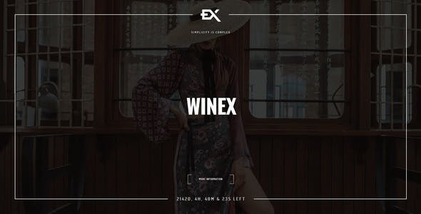 Winex - Creative Coming Soon Template nulled theme download