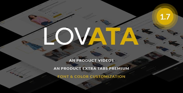 Lovata - Multipurpose Responsive PrestaShop Theme - Fashion PrestaShop