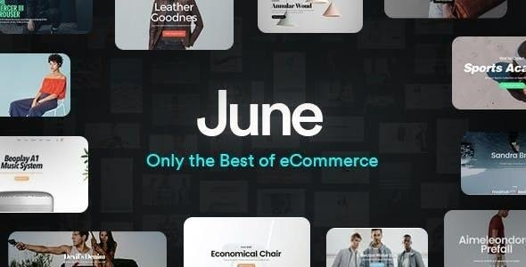 June - Multi-Purpose Responsive WooCommerce Theme - WooCommerce eCommerce