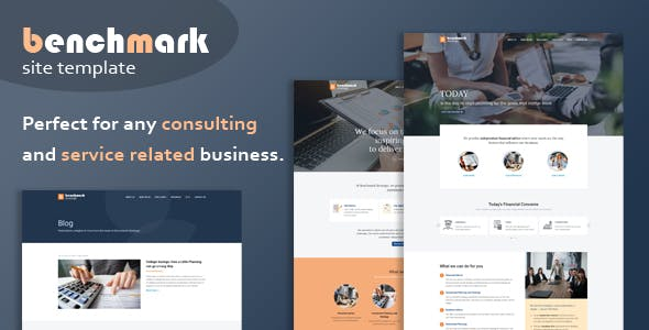 Benchmark - Financial Advisory & Consulting Template