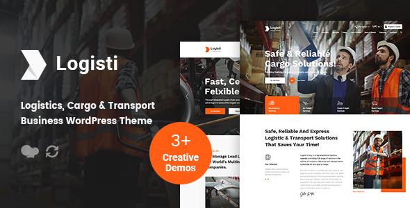 Logisti - Logistics & Transport WordPress Theme - Business Corporate