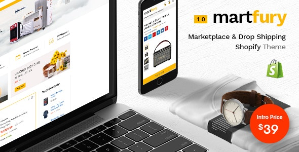 Martfury - Multiple Purposes Marketplace Shopify Theme - Fashion Shopify