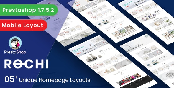 Leo Rochi -  Ceramics & Pottery Decor E-commerce Prestashop 1.7 Theme - PrestaShop eCommerce