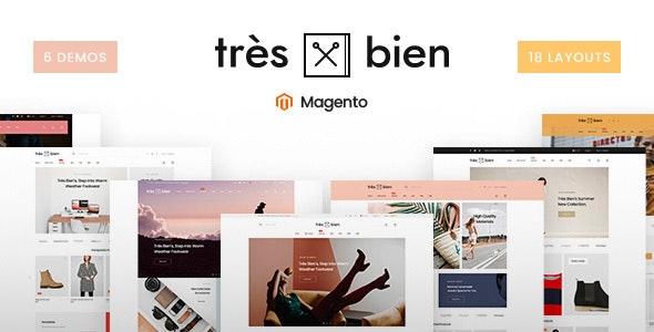 Tresbien - Multi-Purpose Magento 2 Theme - Fashion Magento