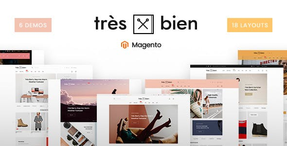 Tresbien - Multi-Purpose Magento 2 Theme nulled theme download