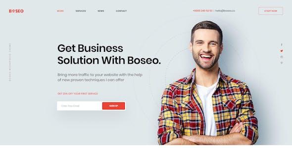 Boseo - SEO & Digital Marketing PSD Template