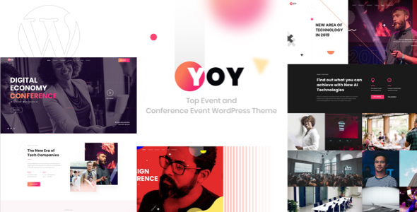 YOY - Event & Conference WordPress - Events Entertainment