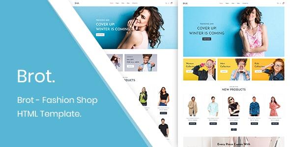 Brot - Fashion Shop HTML Template - Fashion Retail