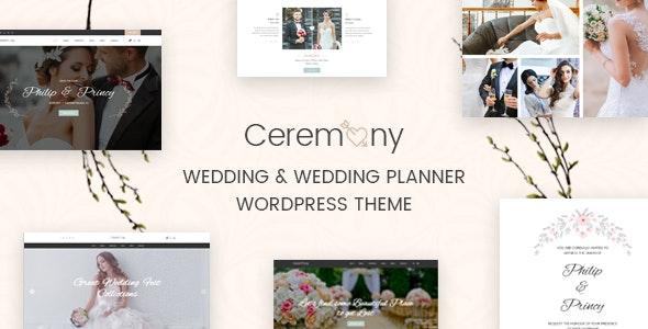 Ceremony - Wedding Planner WordPress Theme - Wedding WordPress