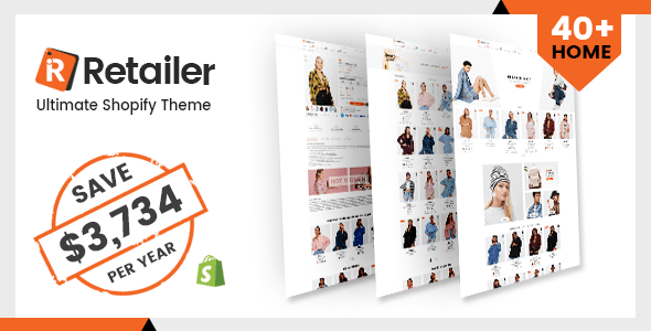 Retailer - Multipurpose Shopify Theme - Fashion Shopify