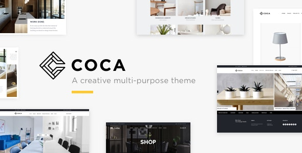Architecture Coca - Interior Design and Architecture WordPress Architecture - Portfolio Creative