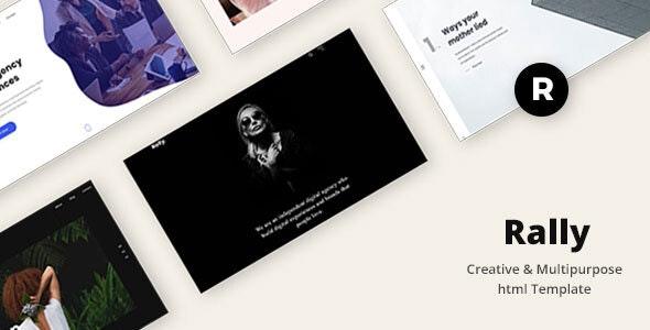 Rally - Creative & Multipurpose html Template - Creative Site Templates