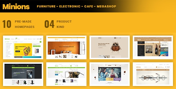 Minion | Multi-store Responsive Shopify Theme - Shopping Shopify
