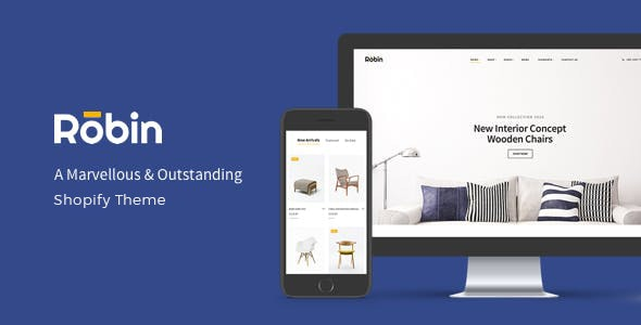 Robin Furniture Shopify Theme