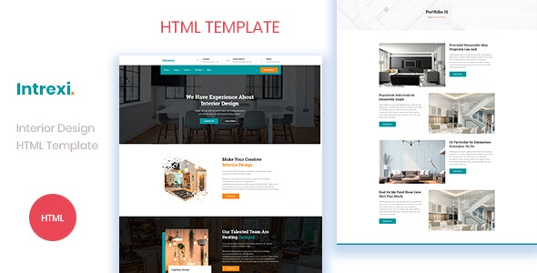 Intrexi - Interior Design Business HTML Template by THESOFTKING