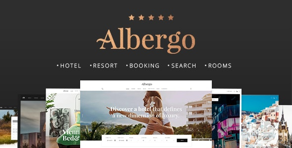 Albergo - Hotel and Accommodation Booking Theme - Travel Retail