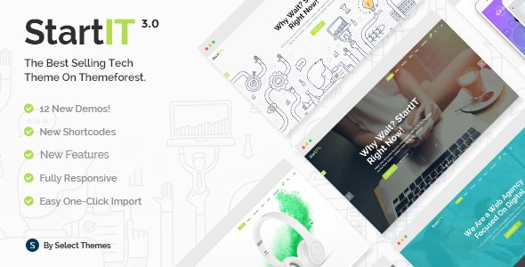 Startit – Fresh Startup Business Theme