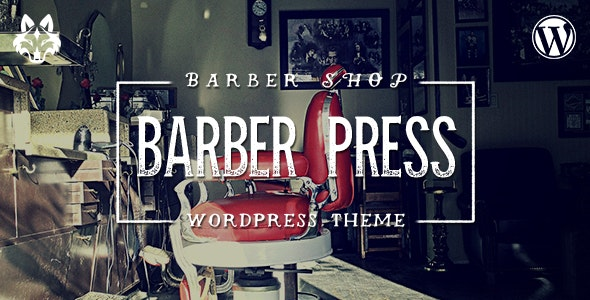 BarberPress - Salon WordPress Theme - Health & Beauty Retail