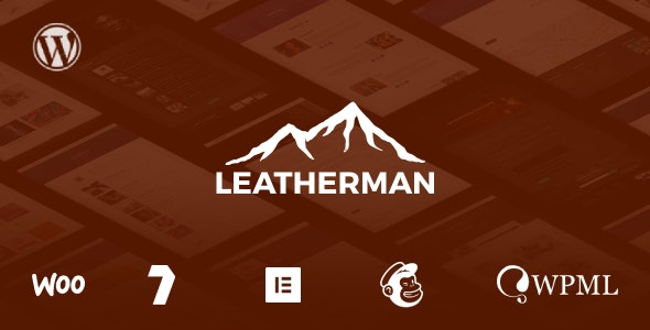 Leatherman - A WordPress Theme for Survival & Outdoors Brands - Travel Retail
