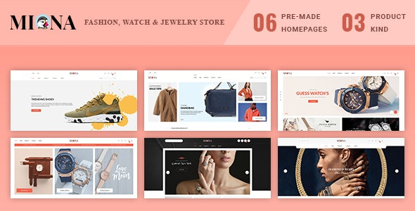 Miona - Multipurpose Prestashop 1.7 Theme - Fashion PrestaShop