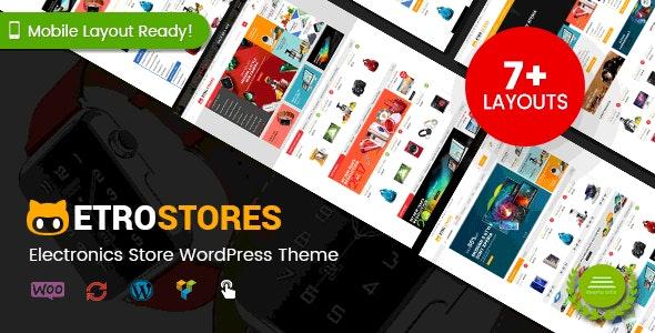 EtroStore - Electronics Store WooCommerce WordPress Theme (Mobile Layouts Ready) - WooCommerce eCommerce