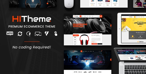 HiTheme - Digital Store & Fashion Shop WordPress WooCommerce Theme (Mobile Layout Ready) - WooCommerce eCommerce