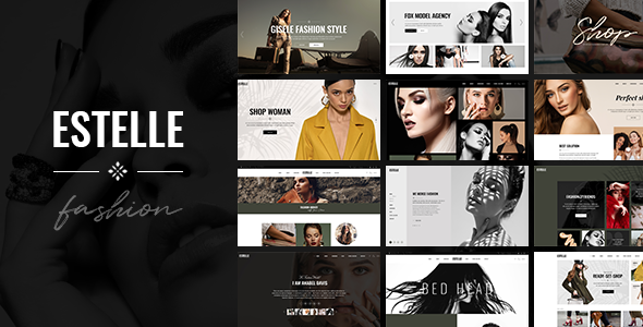 Estelle - Fashion and Modelling Agency Theme - Fashion Retail