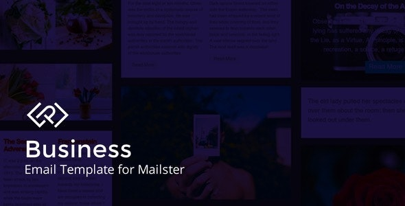 Business - Email Template for Mailster - Newsletters Email Templates