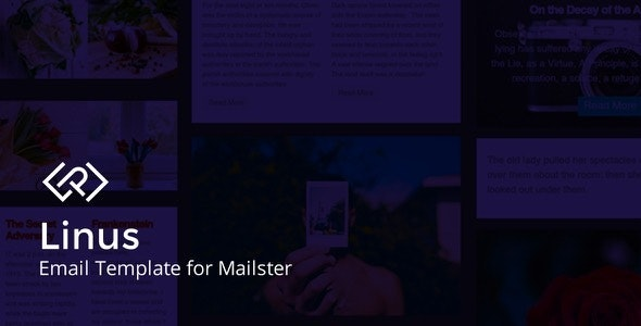 Linus - Email Template for Mailster - Newsletters Email Templates