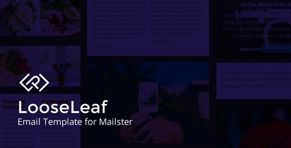 LooseLeaf - Email Template for Mailster - Newsletters Email Templates